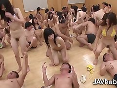 Appealing Japanese damsels are fitfully essay a grup orgy class, as part of their discrimination